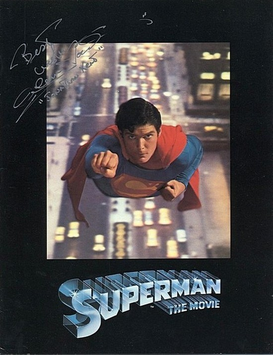 Ford, Glen - signed original Superman program